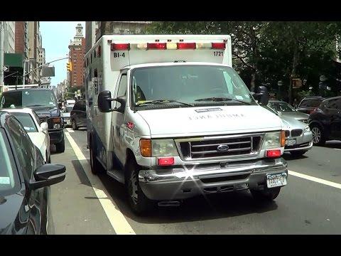 NYC Beth Israel Hospital Ambulance BI-4 1721 On Scene [NY | 7/24/2013]