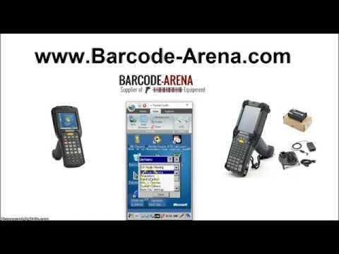 Connect MC92N0, MC32N0 to WiFi - (Windows CE 7 0) - YouTube