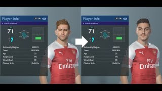 PES 2019 facepack part 1 - Premier League ~90 real faces added (PC)