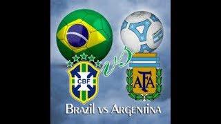 ARGENTINA VS BRAZIL Match Review 9-6-2017 | আর্জেন্টিনা এবং ব্রাজিলের ম্যাচের কাহিনী