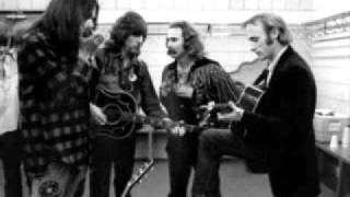CSNY doing a cover of The Beatles song Blackbird.