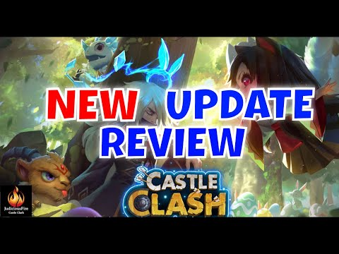 Castle Clash NEW Update Review