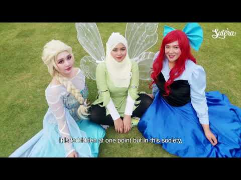 Voices in Brunei   Done by Jen - Artist & Hijab Cosplay