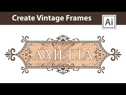 How To Make A Vintage Place Card In Adobe Illustrator