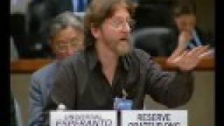 L'espéranto au Conseil des Droits de l'Homme, ONU, Genève