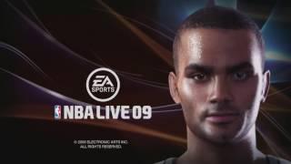 NBA Live 09 - Intro & Attract Mode (Xbox 360)