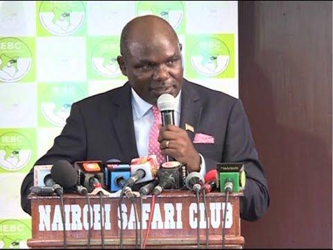 IEBC shocker to Presidential candidates