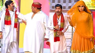 Agha Majid and Sajan Abbas | Amanat Chan | Stage Drama 2020 | Ghare Di Machi | Comedy Clip 2020