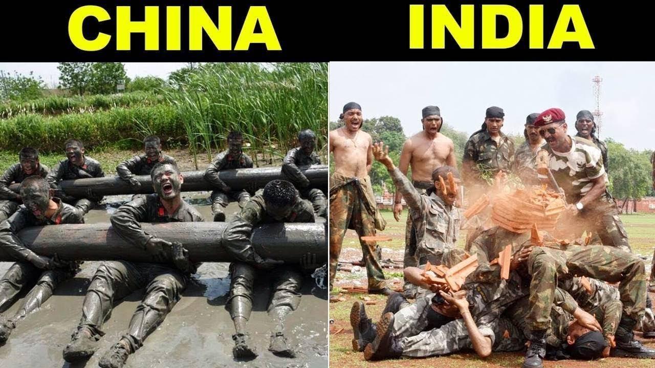 भारत और चीन की कमांडो ट्रेनिंग में क्या फर्क है? |  India vs China Commando Training