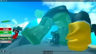 Roblox Boxing Simulator | DOUGH IS HUGE!!
