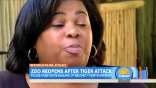 Zoo to reopen beloved zookeeper's death in tiger attack