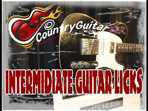 Country Guitar Lesson IV13 Transition Lick G to C