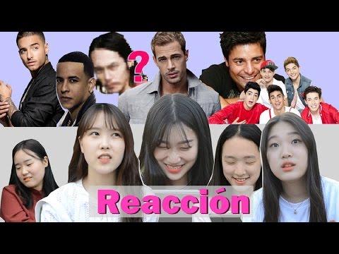 Coreanas reaccionan a los Famosos Latinos