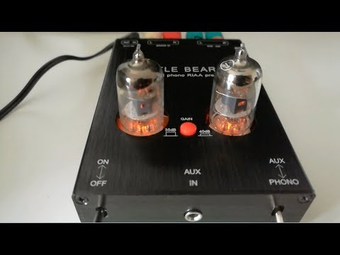 Little Bear T7 phono valve preamp (Unboxing)