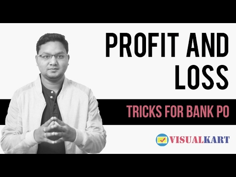 Profit and Loss tricks for bank po