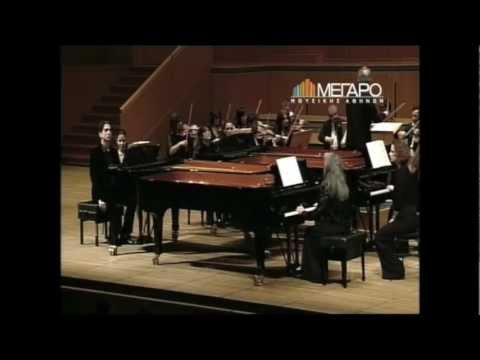 Argerich, Kapelis, Mogilevsky, Maisky:  Bach, Concerto for 4 Keyboards BWV 1065