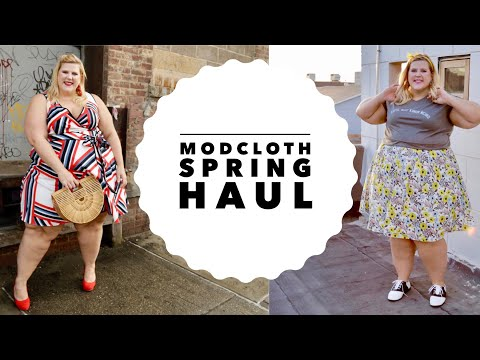 Spring Modcloth Size Inclusive Haul: Dress, Skirts, Shirts + More!