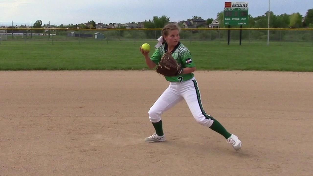 Alanna Burkey, Class of 2022, Softball Skills Video