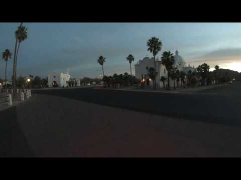 Well Road, Pima County Sheriff's Office, Ajo High School, Plaza  Ajo, Arizona, 9 June 2019, GX040807