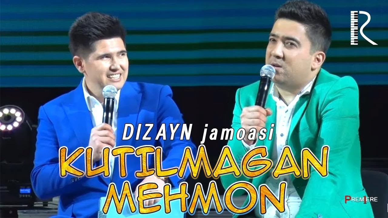 Dizayn jamoasi - Kutilmagan mehmon | Дизайн жамоаси - Кутилмаган мехмон