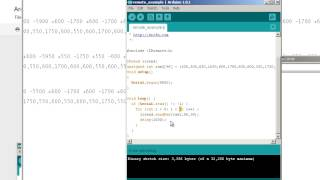 1304 Arduino  Chapter13 Sending Raw IR codes to comsumer products