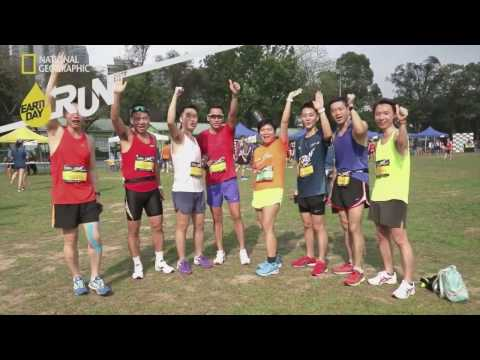National Geographic Earth Day 10K Race Hong Kong Highlights