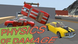 Physics of Damage Updated! - Crash Wheels