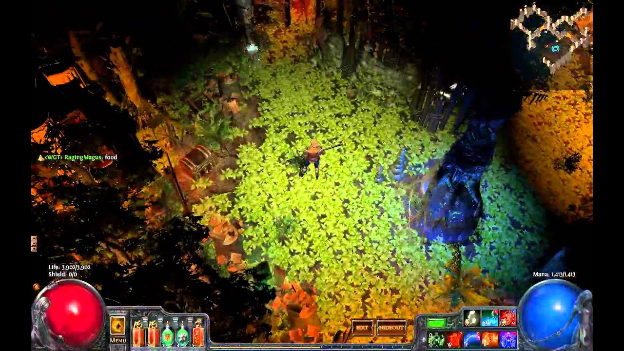 path of exile how to make hideout bigger