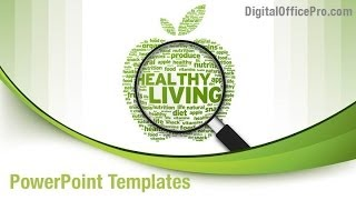 Create amazing presentations with healthy lifestyle powerpoint template and backgrounds. download now: http://www.digitalofficepro.com/ppt/healthy-l...