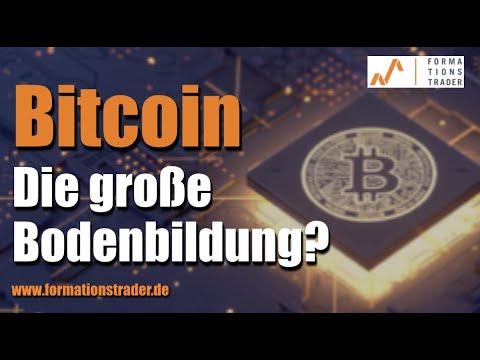 Bitcoin: Die große Bodenbildung?