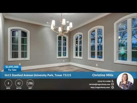 3615 Stanford Avenue University Park, Texas 75225 | Marketing Ideas for Realtors | QuickTours.net