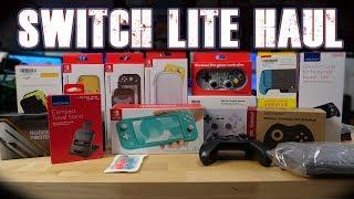 $500 Nintendo Switch Lite Accessories Haul!!!