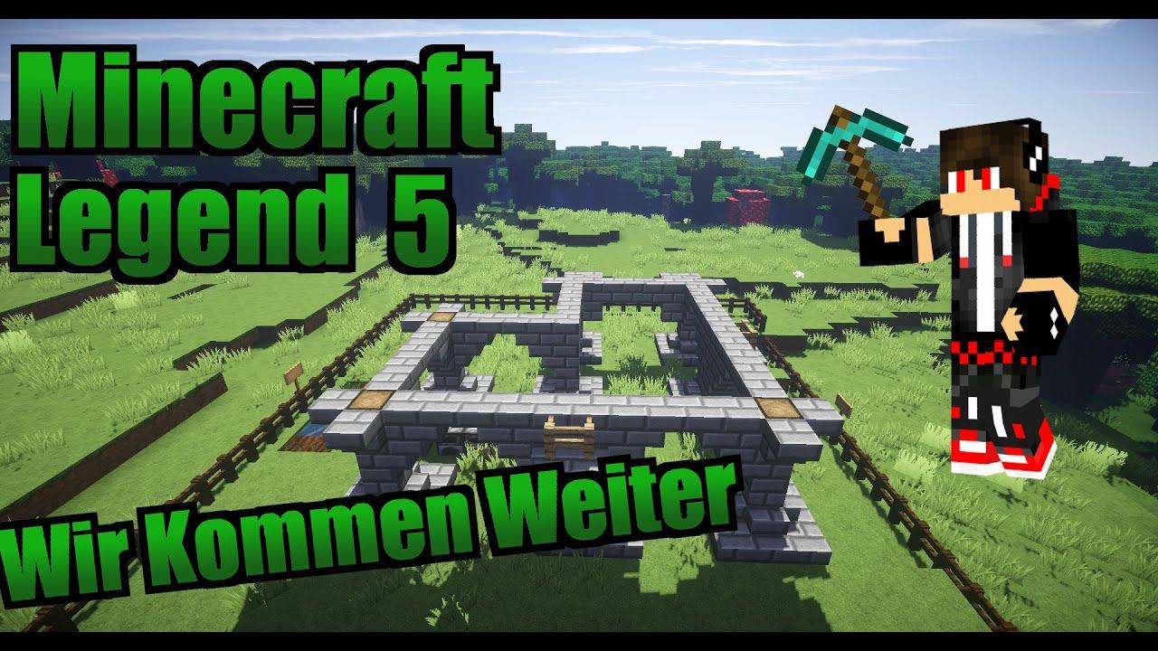 Wir Kommen Weiter Minecraft Legend Spiele Boy YouTube - Minecraft legend spielen