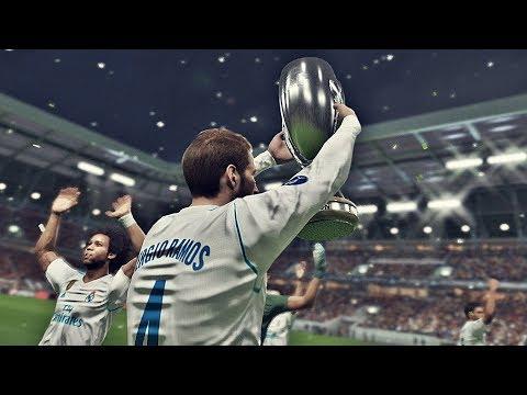 PES 2018 - Real Madrid vs Man United   Final UEFA Supercup   HD