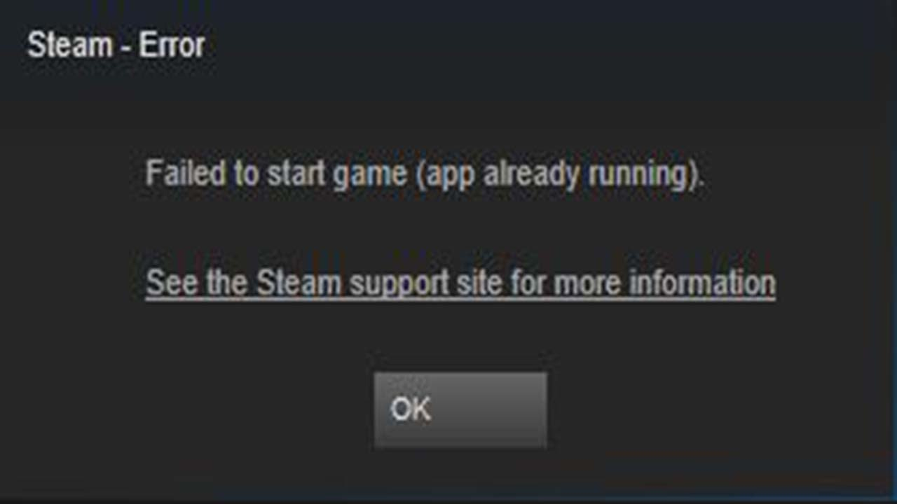 steam failed