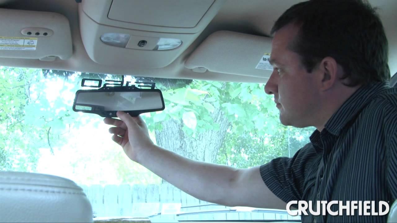 sky wiring diagram 2015 jeep grand cherokee radio onstar fmv rear-view mirror review | crutchfield video - youtube