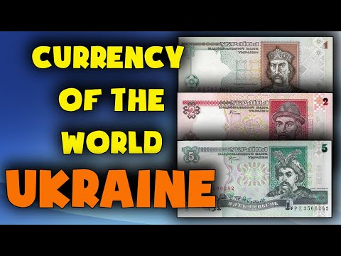 - Currency of the world - Ukraine. Ukrainian hryvnia 1994-2001