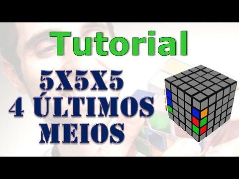 Como montar o cubo 5x5x5: últimos meios
