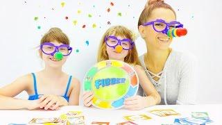 Играем в Fibber. Видео для детей.
