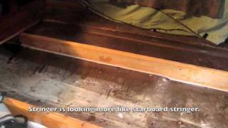 Boat stringer repair