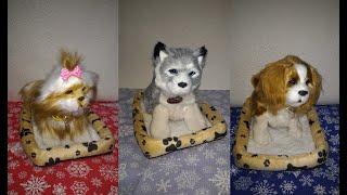 Интерактивная собака щенок живая игрушка подарок