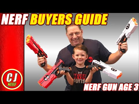 Nerf Buyers Guide - 2018 BEST Nerf Gun Age 3