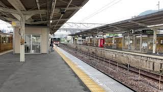 山陽本線(普通列車)糸崎駅に入線/ 227系 糸崎912発(広島行)