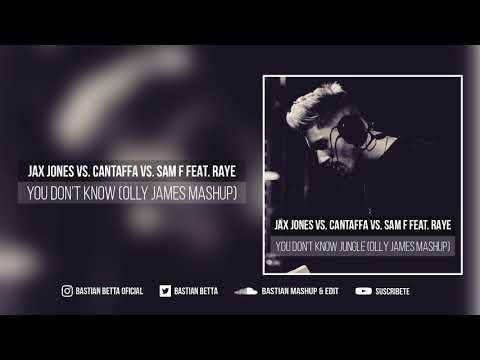 Jax Jones Vs. Cantaffa Vs. Sam F Feat. RAYE - You Don't Know Jungle (Olly James Mashup)