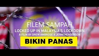 [Reaction] Video Locked up in Malaysia Lock Down // Bikin Panas dan Penipu