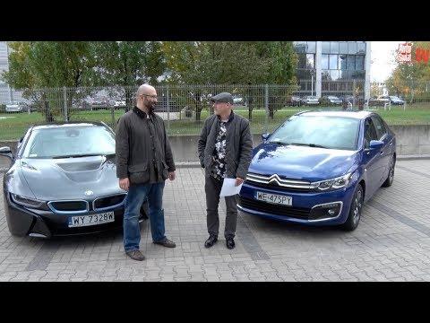 Auta bez ściemy – BMW i8 kontra Citroen C-Elysee, czyli dwa sposoby na oszczędne auto