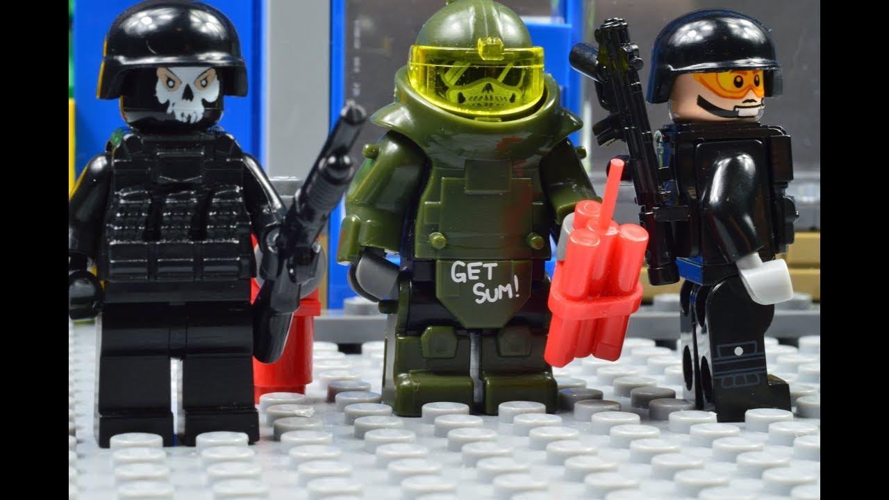 Lego Swat Lego Swat The Bomber Youtube