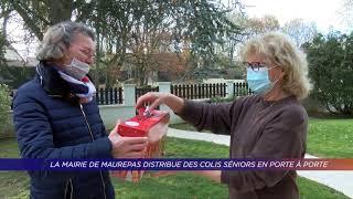 Yvelines | La mairie de Maurepas distribue des colis seniors en porte à porte