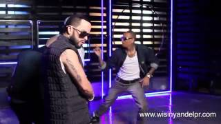 Making Of Wisin Y Yandel Feat. Chris Brown, T-pain - Algo Me Gusta De Ti