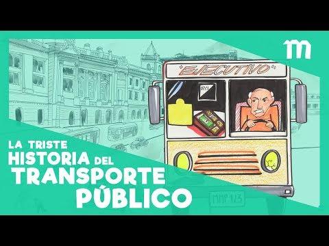La triste historia del transporte público en Bogotá